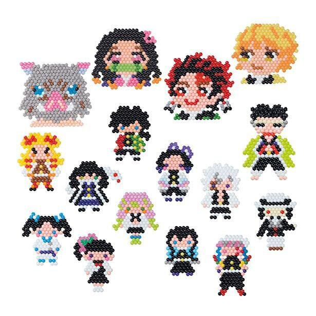 炭治郎、禰豆子、善逸、伊之助など12人のキャラクターを完成させよう!