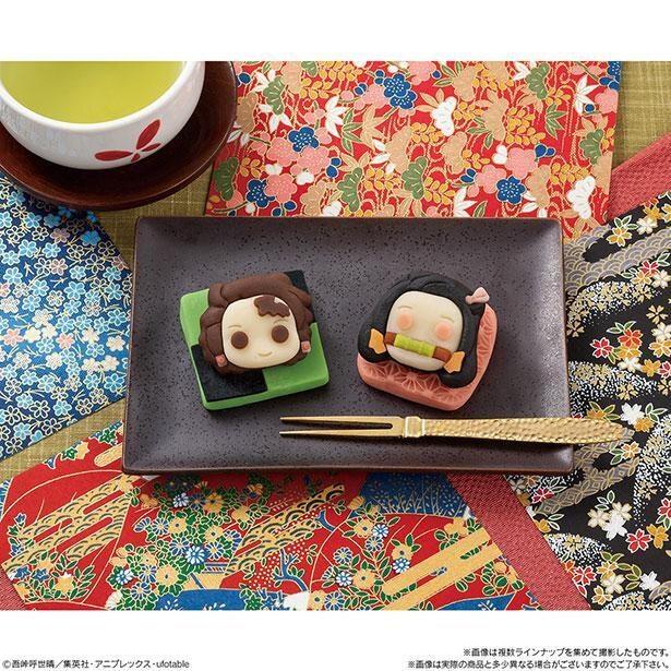 炭治郎と禰豆子が上品な味わいの和菓子に変身!※画像はイメージ