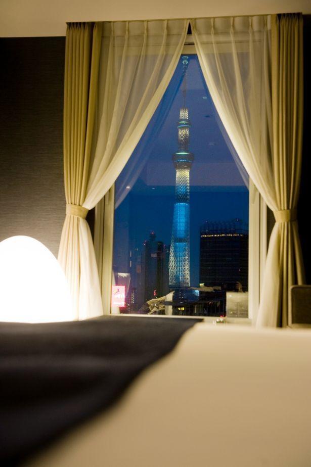 【写真】東京スカイツリーを客室から堪能!ほかにもホテルで楽しむイルミを一気見せ!