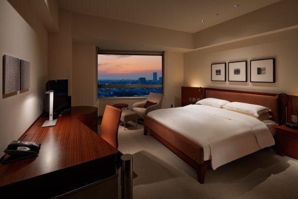 落ち着いた雰囲気の客室も魅力