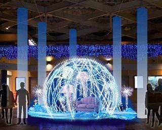 「まるで宝石のよう?」新江ノ島水族館でイルミイベント開催