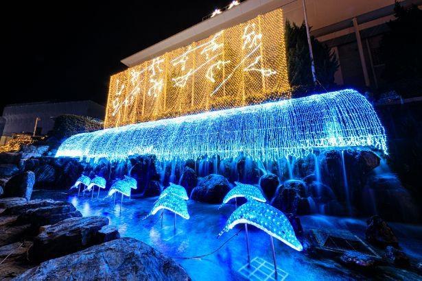 別府温泉杉乃井ホテルの「光のイルミネーション」