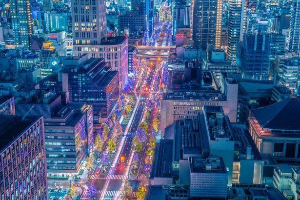 大都会・大阪の夜景を一望できるザ ロイヤルパークホテル アイコニック 大阪御堂筋