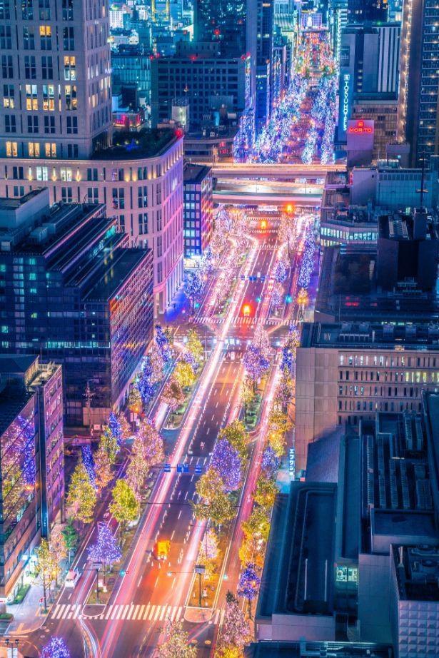 ザ ロイヤルパークホテル アイコニック 大阪御堂から眺める夜景