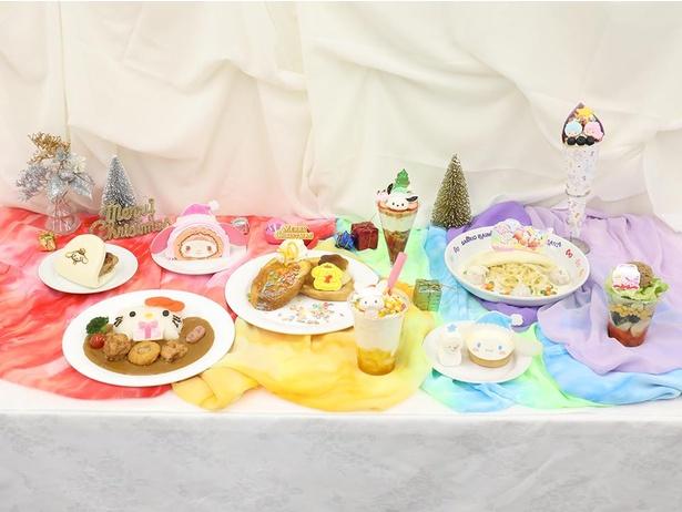 【画像】カラフルな見た目がかわいい!PURO RAINBOW CHRISTMASのフードメニューを一挙公開