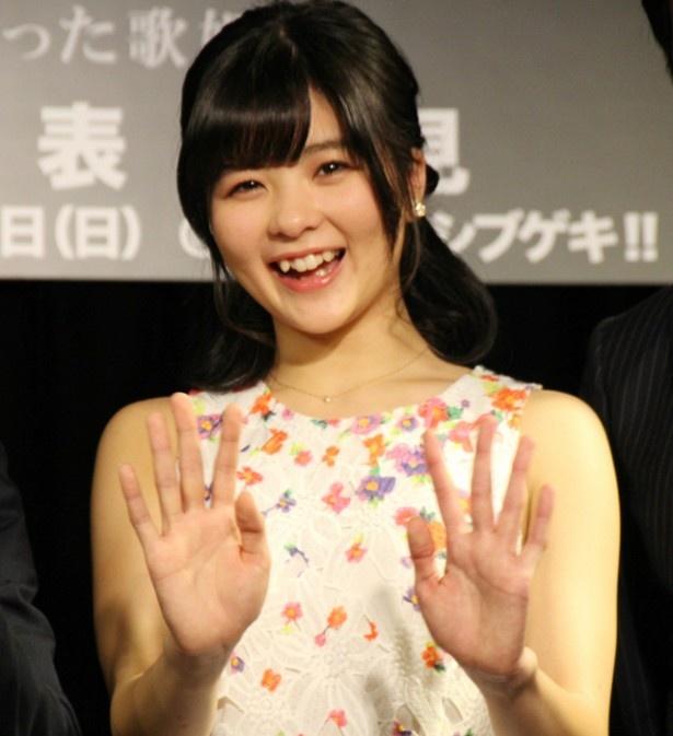 元アンジュルム・めいめい(田村芽実)が、舞台「minako-太陽になった歌姫-」の主演に決定!