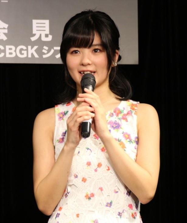 「私は本当に本田美奈子.さんが大好きだし、そして本田美奈子.さんと同じように歌が大好きなので、その気持ちをいっぱいぶつけて、本番のステージに立ちたい」と意気込んだ