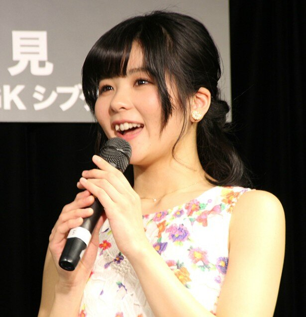「憧れの本田美奈子.さんの役を頂いたので、そのプレッシャーが1番強いです」と心境を明かす