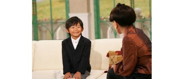 トークではあどけない笑顔を見せる加藤清史郎だが、しっかり者な一面も見せた