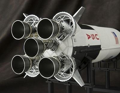 ロケットエンジンのディテールもすばらしい!【そのほか詳細画像】