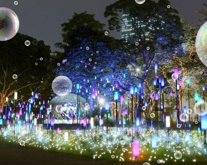 【コロナ対策情報付き】東京ミッドタウンのイルミネーションの楽しみ方完全ガイド!「MIDTOWN CHRISTMAS 2021」の見どころは?