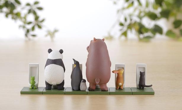 カプセルQミュージアム 佐藤邦雄の動物たち「つれ〇o〇2」/全5種、1個400円(税込)