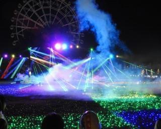 音楽に合わせて光が動く!埼玉県の東武動物公園で「東武動物公園ウインターイルミネーション」が開催中