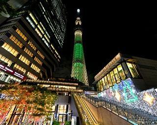 「東京スカイツリータウン」のクリスマスイベントは、心も体も温まるコンテンツが盛りだくさん