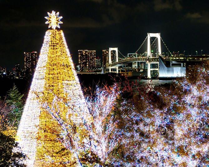 【コロナ対策情報付き】お台場のイルミネーションおすすめ情報ガイド!子供から大人まで楽しめるイルミスポットで東京湾の夜景を一望
