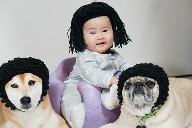 個性的なヘアスタイルでキメっ!