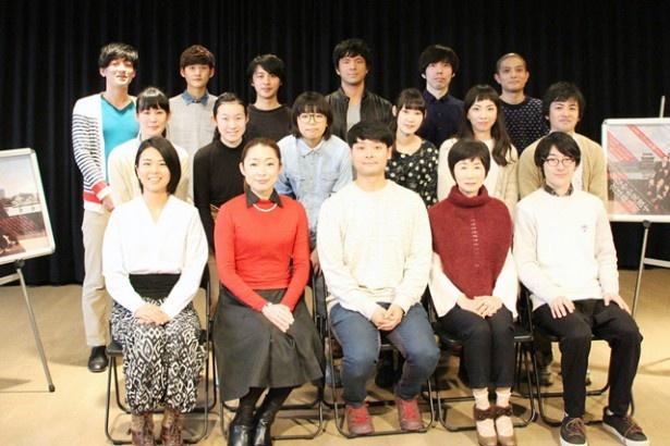 出演者は、北九州・福岡を中心に113名の応募者からオーディションで選出された16名