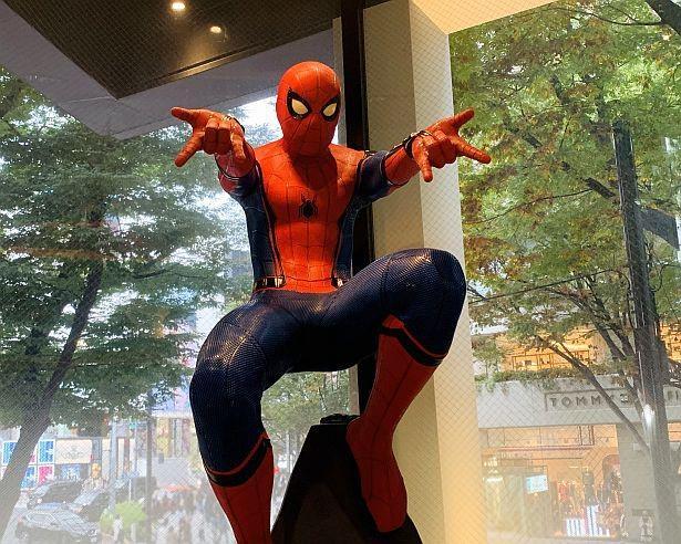 リアルに再現された『スパイダーマン』