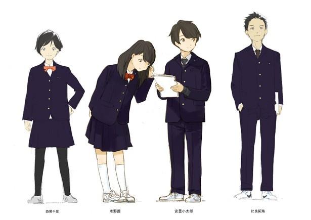 岸誠二監督オリジナルTVアニメ「月がきれい」ティザービジュアルが公開