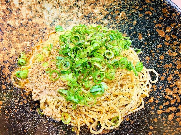 ひろしまブランドショップTAUでは「キング軒」の「汁なし担担麺」が食べられる!
