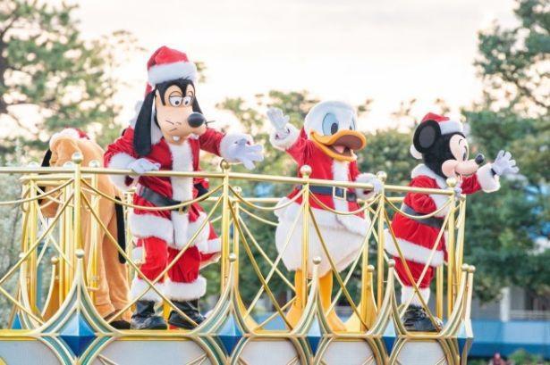 クリスマスらしいサンタ姿にも注目!