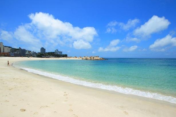 関西屈指の美しさを誇る白良浜