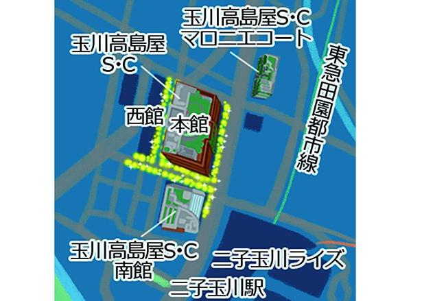 2020 玉川高島屋S・Cクリスマス イルミネーション
