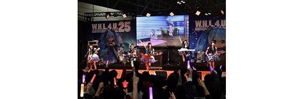 ねんどろいどのキュートさにメンバーも大興奮!生ライブも盛り上がった「バンドリ!」ステージ【ワンフェス2017 冬】