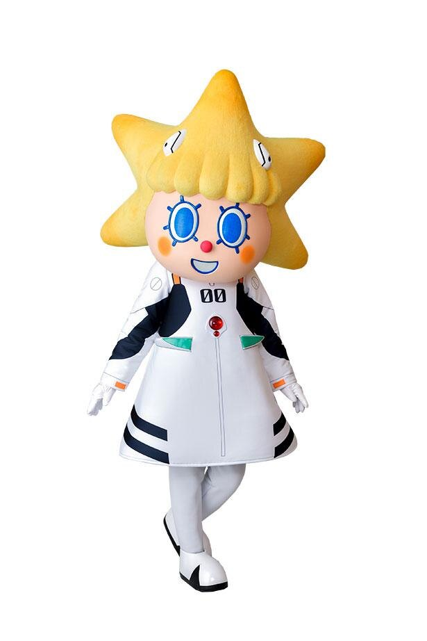 ソラカラちゃんが綾波レイのプラグスーツ姿で登場 ※画像はイメージ