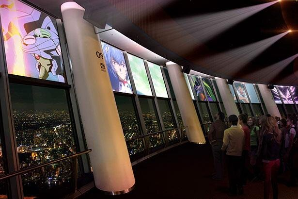 「エヴァンゲリオン」の特別映像と音楽、東京の夜景をあわせて楽しめる ※画像はイメージ
