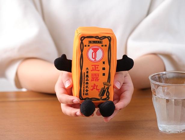 \正露丸くん ぬいぐるみを3名様にプレゼント/