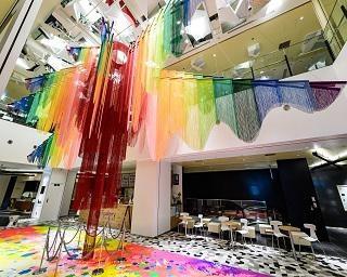 カラフルで新感覚な「元氣ツリー」が渋谷スクランブルスクエアにクリスマス限定で登場!