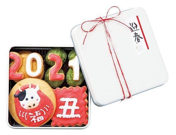 「お年賀アイシングクッキー 詰め合わせ」(2000円) /  LOOP&LOOP