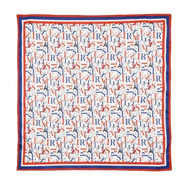 エッフェル塔やアルファベットをデザインした「スカーフ」