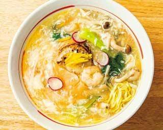 「ラーメンWalker九州2021」の限定麺企画第5弾!元中華シェフが作ったフカヒレ入りラーメン