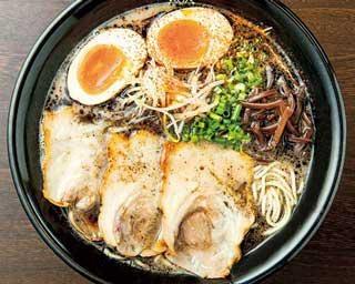 「ラーメンWalker九州2021」の限定麺企画第8弾!自家製黒マー油が香る濃厚ラーメン