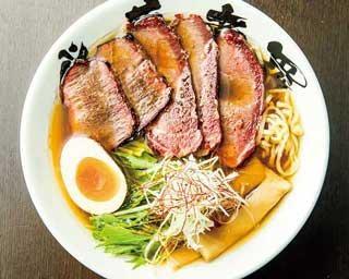「ラーメンWalker九州2021」の限定麺企画第9弾!燻製したジビエ肉に注目