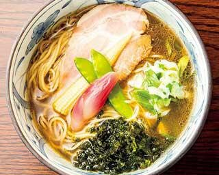 「ラーメンWalker九州2021」の限定麺企画第10弾!煮干しが効いた冷製スープのラーメン登場