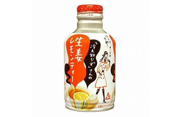 『「冷え知らず」さんの生姜レモンティー』は9月に発売。ショウガとレモンの爽やかな香りと、ピリリッとした後味が楽しめる