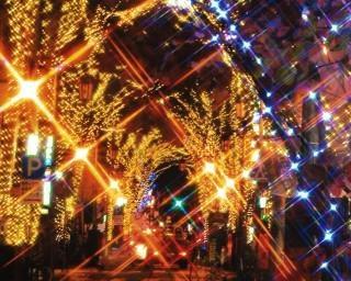 20万球の電球が中心街を彩る!福島県福島市で「光のしずくイルミネーション」が開催中