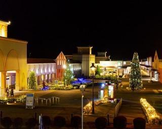 ショッピングを華やかに!栃木県那須塩原市で「那須ガーデンアウトレット ウインターイルミネーション」が開催中