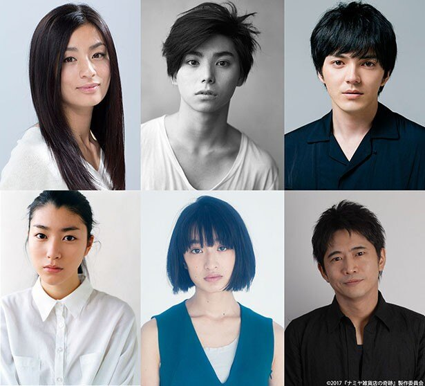 山田と西田の初共演作に、実力ある6名のキャストが参加