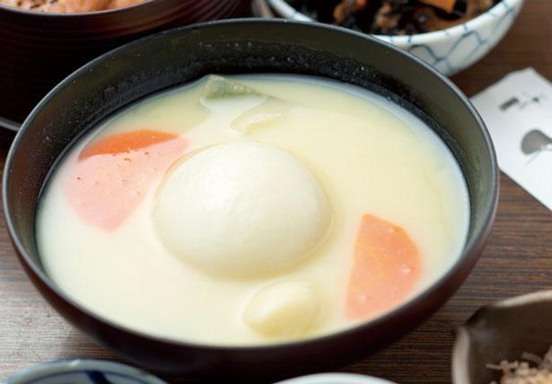 京雑煮のいろどりごはん(税込1050円)。1月からは一部具材を京野菜に/一乗寺中谷