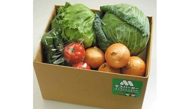 「モスの野菜 定番セット」(2480円)
