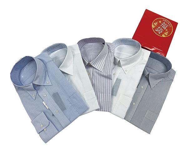 テイストの異なるワイシャツ5着が便利!「ワイシャツ5点セット」(税込1万1000円)※限定50セット /「名鉄百貨店本店」