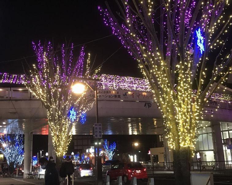 約14万球の光が伊万里駅前を彩る、佐賀県伊万里市で「輝け!イマリフェスタ『イマリのイルミ』」開催