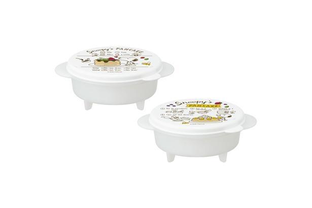 「スヌーピー ホットケーキメーカー(2個入り)」(税込1320円)※サイズ:約直径132×162×60ミリ