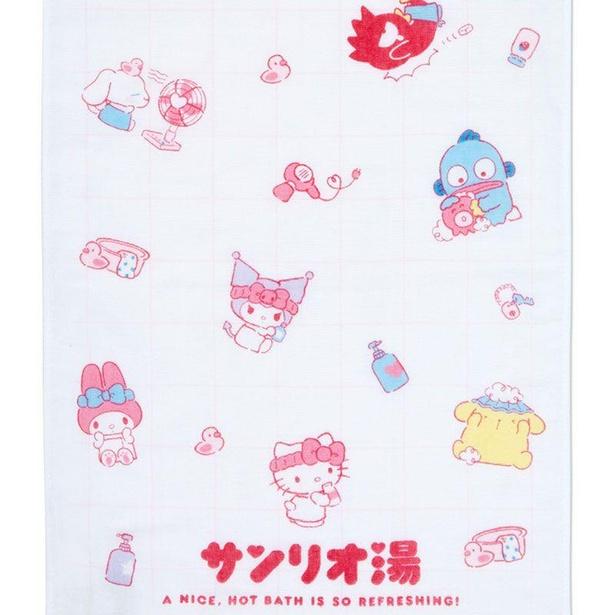 「サンリオキャラクターズ フェイスタオル」(1320円)