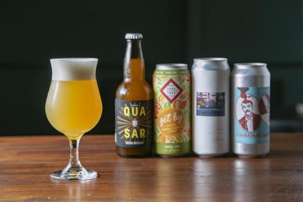 世界各国のクラフトビールをこだわりの樽生で提供