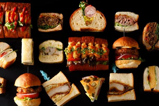 高級サンドウィッチもひと口サイズで好きなだけ楽しめる